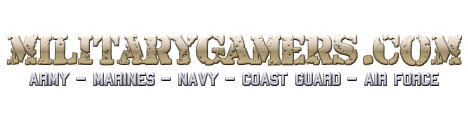 MilitaryGamers.com - We bring military gamers together!
